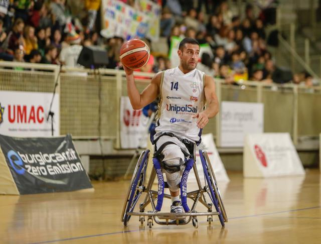 Adolfo Damian Berdun con la maglia della UnipolSai Briantea84 Cantù_PH. Antonio Magro