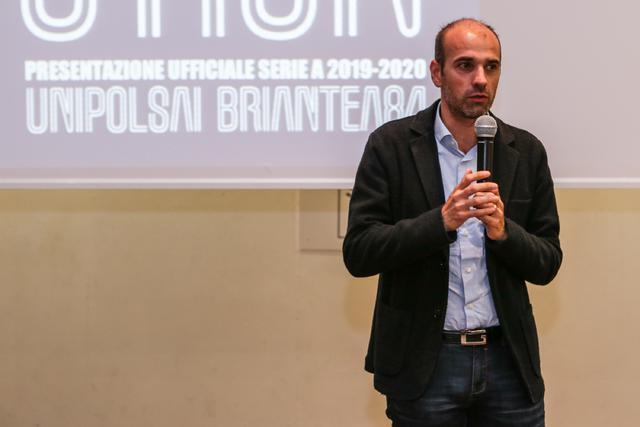 Luca Santambrogio, sindaco di Meda. Foto di Alessandro Vezzoli