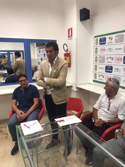 Il direttore generale del Talsano Taranto Domenico Pellegrini