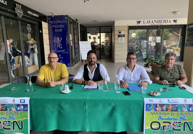 La presentazione dell'Open Marina di Ginosa - Bandiera Blu 2021