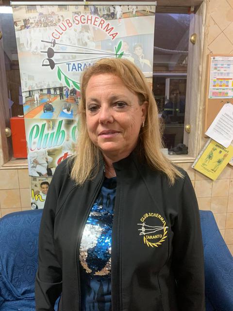 Antonella Putignano, presidente Club Scherma Taranto