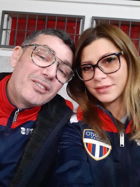 I vicepresidenti Salvatore Brittannico e Alina Preda