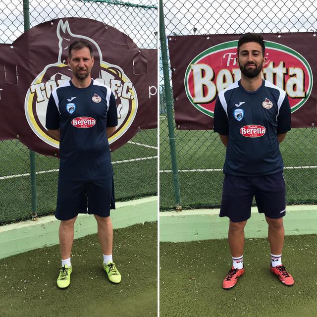 I tecnici Michele Ciuffreda (a sinistra) e Ciro Masella