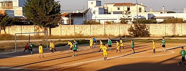 Gol Marangiolo a seguito sviluppi azione da calcio d'angolo