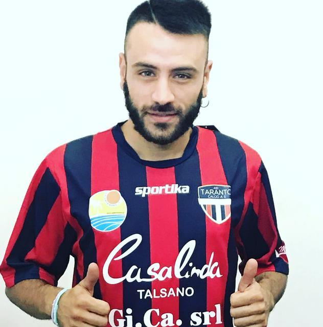 Il vicecapitano della New Taranto Michael De Risi