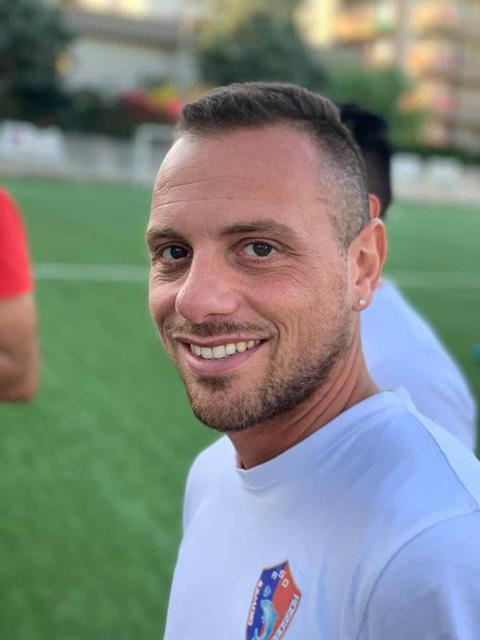Lorenzo Fabiano, tecnico dell'Asd Giovani Rossoblu