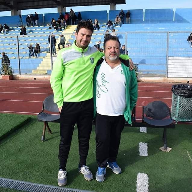 Lorenzo Semeraro (a sinistra) con il direttore Fabio Ancona