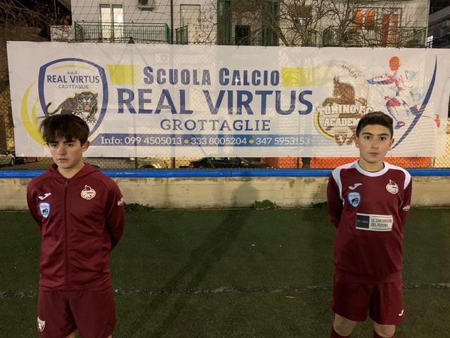 Jacopo Grimaldi (a sinistra) e Vincenzo Motolese