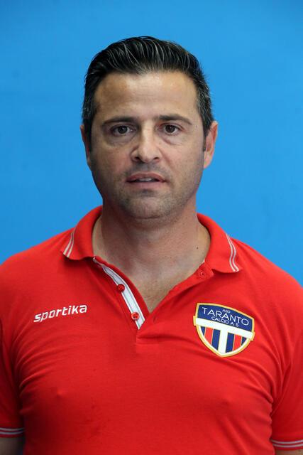 Il coach della New Taranto Riccardo Stefanelli