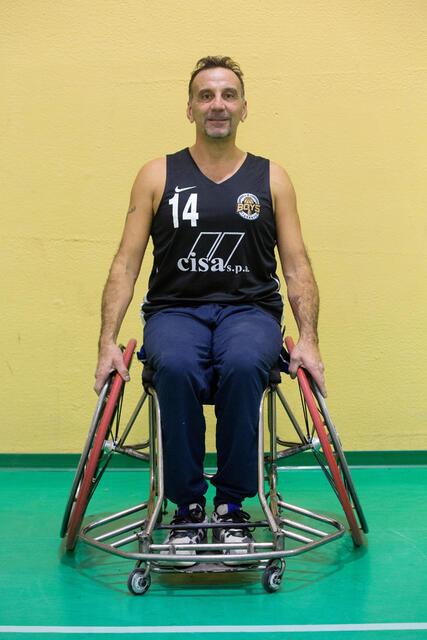 Il forte pivot Fabio Ciaglia