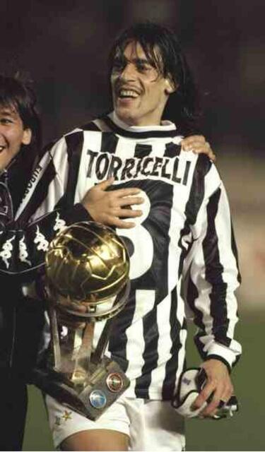 Il campione Moreno Torricelli
