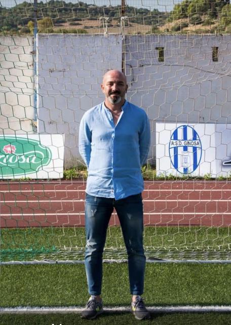 Il diesse degli Spartan Boys Vincenzo Pulpito