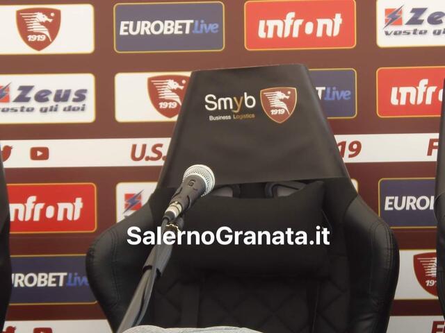 Conferenza stampa Salernitana