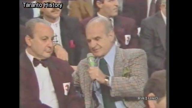 Vito Fasano con Sandro Ciotti