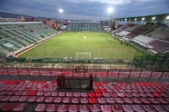 Lo stadio Oreste Granillo di Reggio Calabria