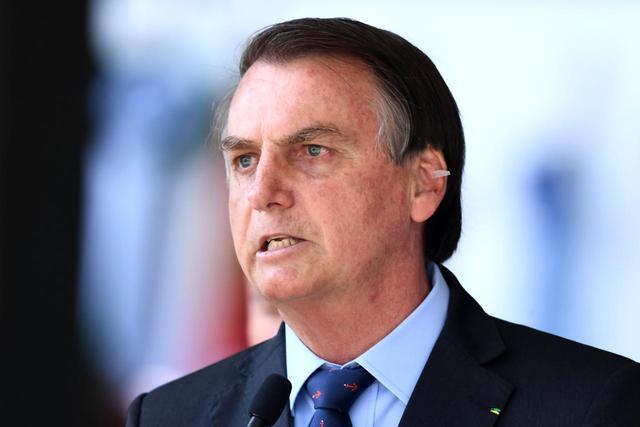 Jair Bolsonaro, presidente del Brasile