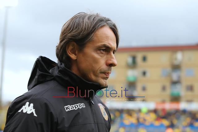 Pippo Inzaghi, allenatore del Benevento