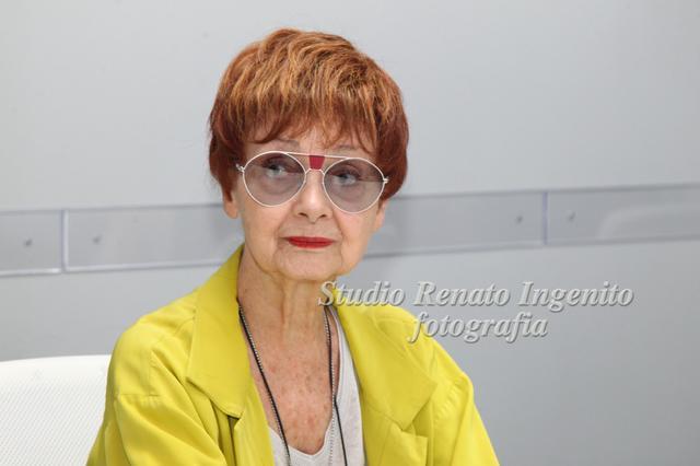 Milena Vukotic nella Foto Renato Ingenito
