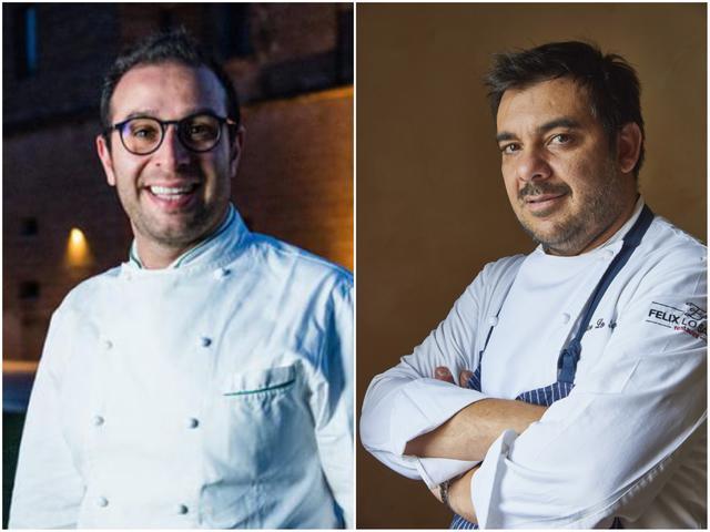 Da sinistra: Pietro Penna e Felice Lo Basso