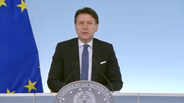 Giuseppe Conte, presidente del Consiglio dei Ministri