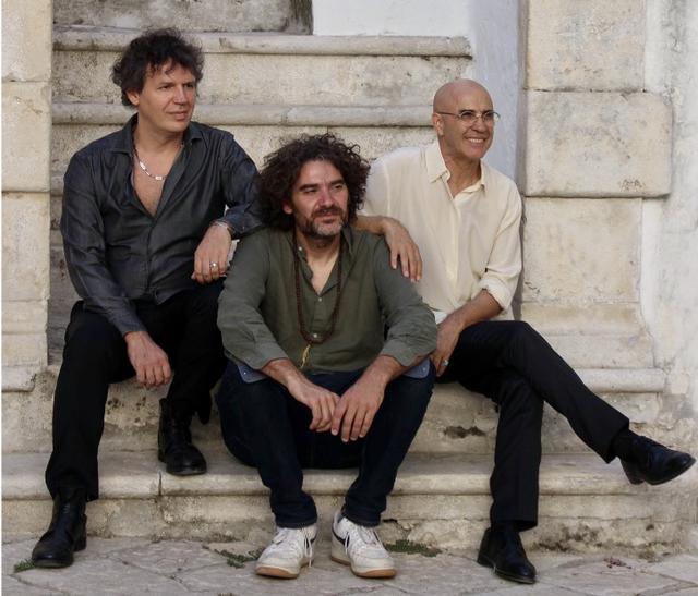 Resicilency Jazz Trio: Enzo Lanzo, Mirko Signorile, Camillo Pace