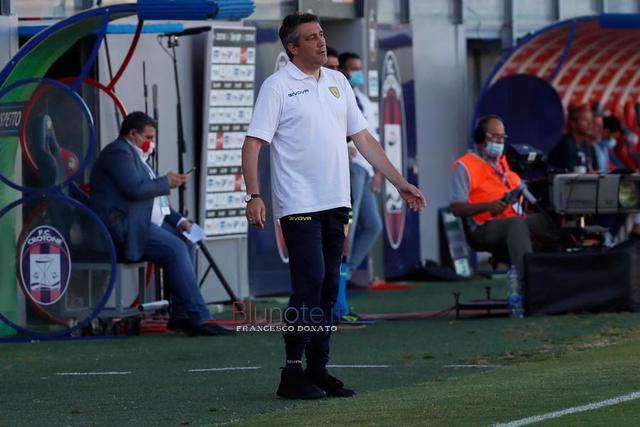Alfredo Aglietti, allenatore del Chievo