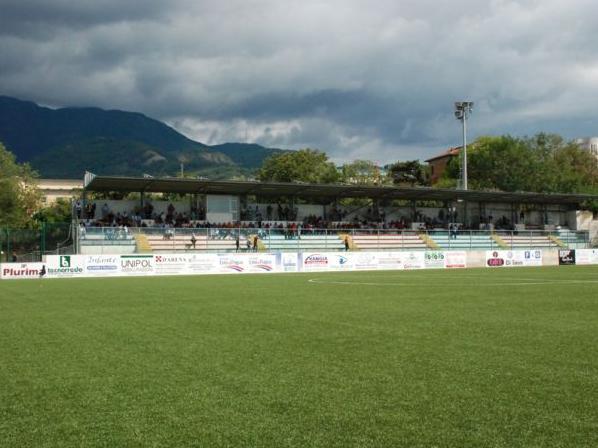 Lo stadio Morra di Vallo della Lucania