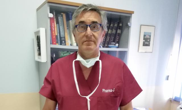 Il dottor Lorenzo Scialpi