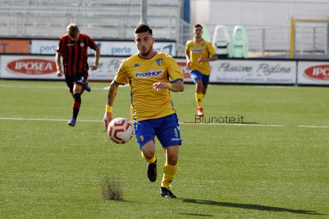 Nicola Loiodice, attaccante del Cerignola - Foto Potito Priore