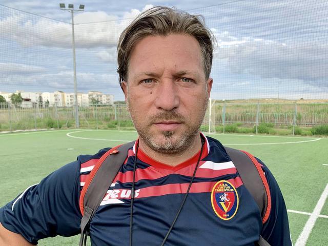 Giuseppe De Giorgio, allenatore della Virtus Tarentum Academy