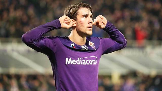 Dusan Vlahovic  attaccante della Fiorentina