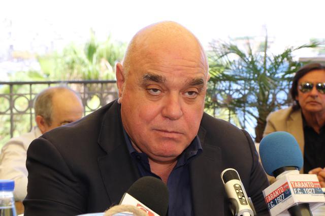 Massimo Giove, presidente del Taranto - Foto Max Todaro
