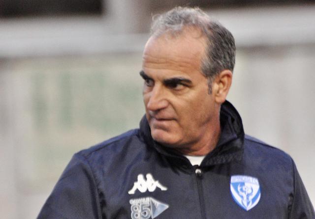 Totò Ciullo, esordio shock sulla panchina del Brindisi - Foto Brindisi FC
