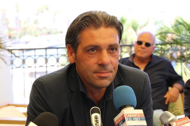Giuseppe Laterza, nuovo allenatore del Taranto