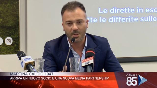 Antonio Distante, nuovo socio del Martina