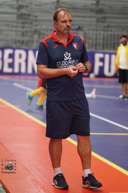 Mathias Lamers, allenatore del Bernalda Futsal