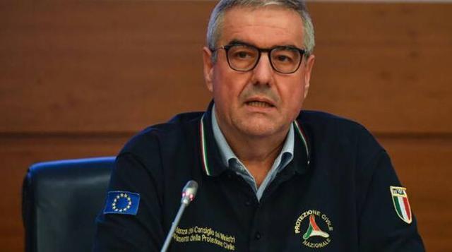Angelo Borrelli, commissario per lemergenza della Protezione civile