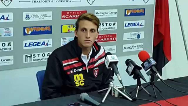 Alfonso Gargiulo, attaccante del Sorrento