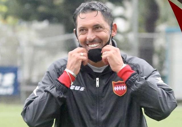 Luca Fusco nella foto Sorrento Calcio