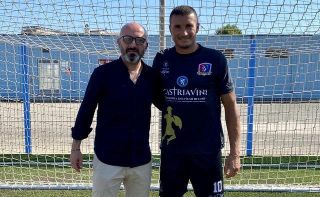 Antonio Laghezza con il diesse Pulpito