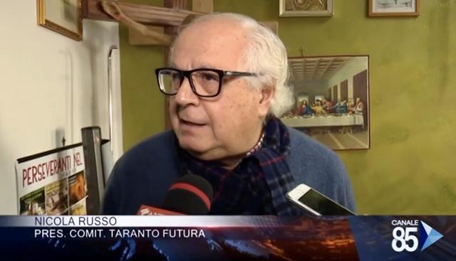 Lavvocato Nicola Russo di Taranto Futura