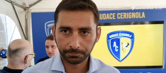 Michele Pazienza, nuovo allenatore del Cerignola