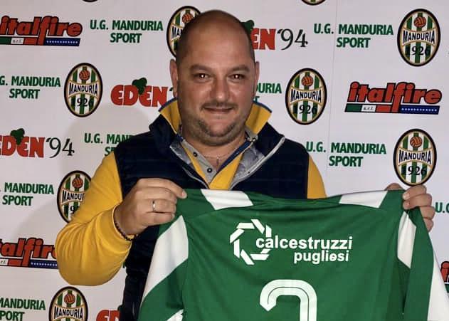 Elio Palmisano, presidente del Manduria - Foto manduriaoggi.it