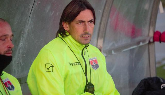 Gigi Panarelli, tecnico del Taranto, nella foto Piero Bello