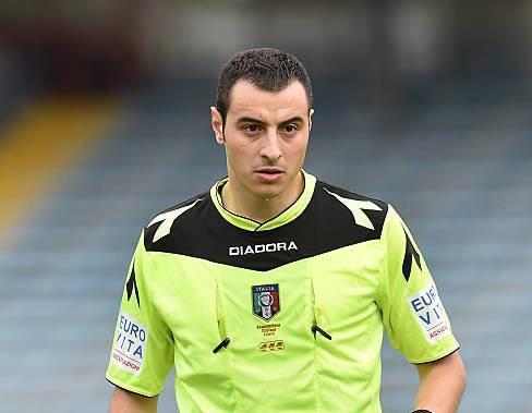 Davide Moriconi, arbitro di Roma 2 che dirigerà Francavilla-Paganese