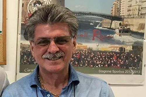 Oronzo Renna, presidente dei Diavoli Rossi
