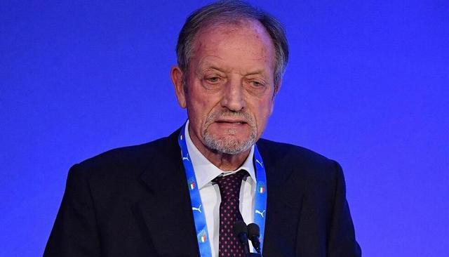 Renzo Ulivieri,presidente dell'Associazione Italiana Allenatori