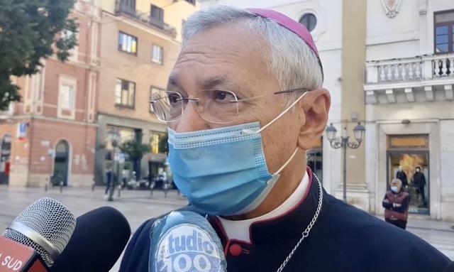 Monsignor Filippo Santoro, arcivescovo di Taranto