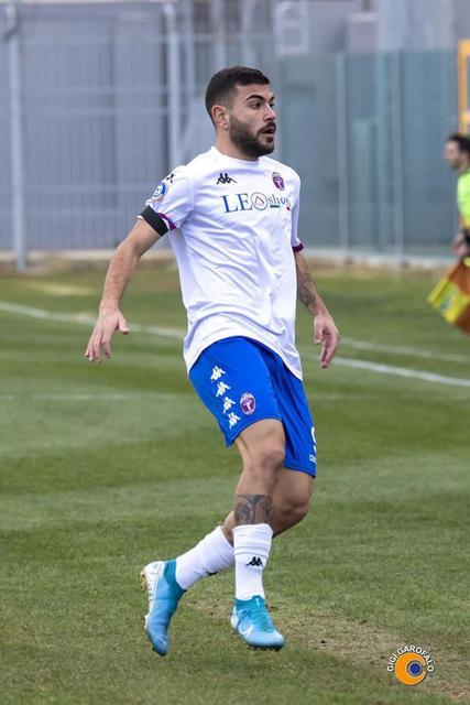 Ciro Favetta, attaccante del Casarano - Foto Gigi Garofalo/Casarano Calcio