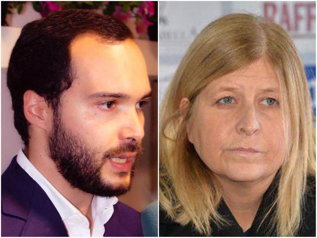 I consiglieri comunali Marco Nilo e Stefani Baldassari